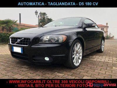 used Volvo C70 2.4 d5 180 cv automatica tagliandata diesel