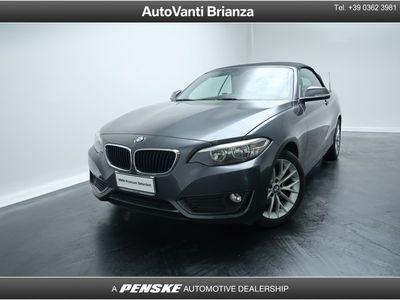 usado BMW 218 d Cabrio Advantage