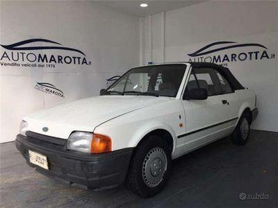 usata Ford Escort Cabriolet 1400 BENZINA FERMA DAL 1996 L