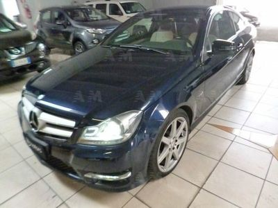 begagnad Mercedes 250 Classe C CoupéCDI BlueEFFICIENCY Coupé Avantgarde usato