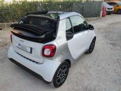 usata Smart ForTwo Cabrio 70 1.0t:amic Passion CLIMA,TETTO,CERCHI .. rif. 15660168