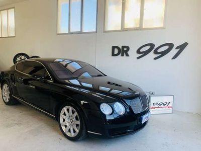usata Bentley Continental GT w12 perfetta colore nero pastello