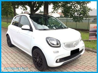 usata Smart ForFour 90 0.9 turbo,aut,5porte, twinamic,prime,tetto pan. benzina