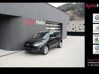 brugt VW Tiguan 2.0 TDI Highline 4Motion DSG AHK Navi Xenon