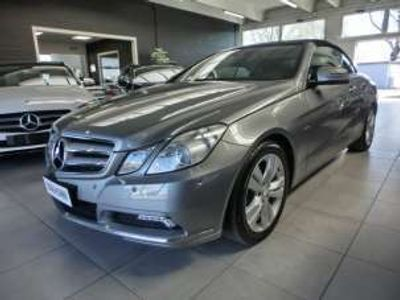 usata Mercedes E350 CDI Cabrio BlueEFFICIENCY Avantgarde