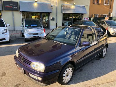 usata VW Golf Cabriolet 1.6 Avantgarde CAMBIO NUOVO, CAPOTE REVISION