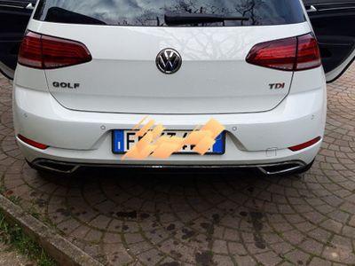 usata VW Golf 7.5 16 tdi 110 executive GARANZIA