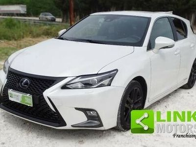 usata Lexus CT200h hybrid sport - manutenzione certificata - del 12/2018