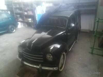 usata Fiat Belvedere 500C- Anni 50