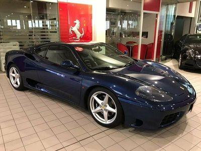 usata Ferrari 360 Modena F1 - Blu Tour de France pelle Blu