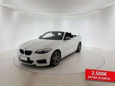 usata BMW M240 Serie 2 Cabriocabrio xdrive auto my18