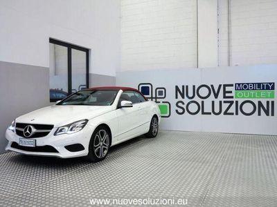 used Mercedes E220 CDI Cabrio