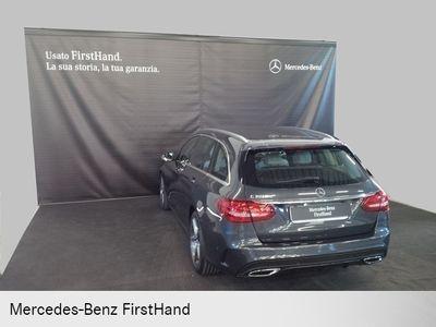 usata Mercedes C200 CLASSE Cd S.W. Automatic Premium