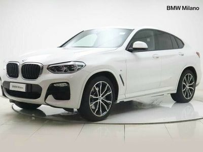 usata BMW X4 xDrive25d Msport del 2019 usata a Milano