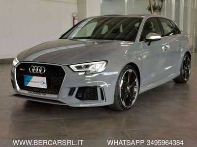 usata Audi RS3 RS3SPB TFSI quattro *CL19*BANG E OLUFSEN*