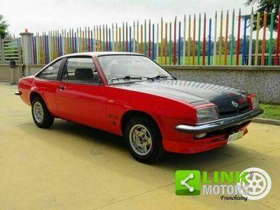 usata Opel Manta -gt/e iscritta asi, icona degli anni '70