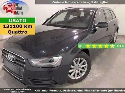 usata Audi A4 Avant S-tr Qtr 2015 2.0 D 190CV 6Aut 5P Blu