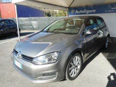 usata VW Golf Sportsvan 1.6 TDI 110 CV Executive BlueMotion Tech. del 2017 usata a Lerici
