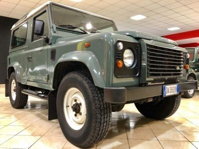 brugt Land Rover Defender 90 2.4 TD4 - UNIPROP - TUTTI I TAGLIANDI TIMBRATI