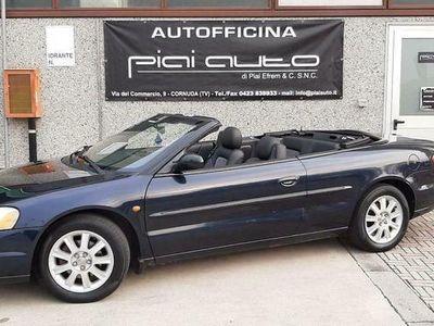 usata Chrysler Sebring Cabriolet 2.0 16v lx gpl + pelle sed riscaldati