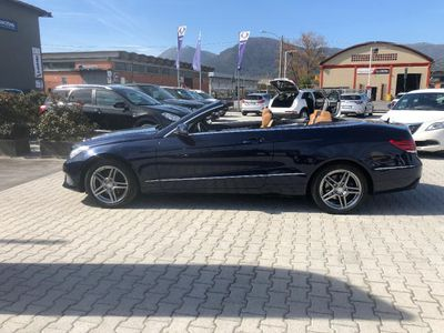usata Mercedes E220 BlueTEC Cabrio Sport