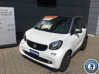 begagnad Smart ForTwo Cabrio FORTWO 1.0 Passion 71cv twinamic my18