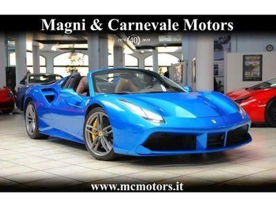 usata Ferrari 488 SPIDER|LIFT SYSTEM|SPECIAL PAINT BLU CORSA|DAYTONA