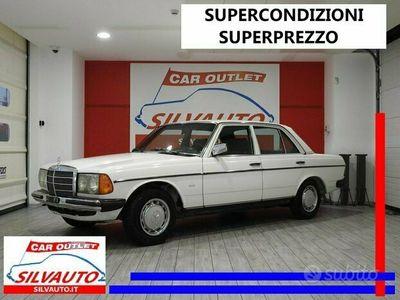 usata Mercedes 200 W123 – CONSERVATO MANIACALE – ISCRITTA ASI (1980)