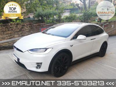 usata Tesla Model X P100D PERFORMANCE DUAL MOTOR 6 POSTI CARICA ILLIMI