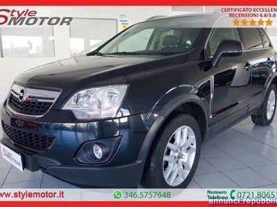 usata Opel Antara 2.2 CDTI 4X4 163CV COSMO: EMISSIONI E CONSUMI