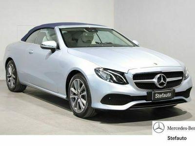 usata Mercedes E220 4Matic Cabrio Business Sport COMAND rif. 12279682