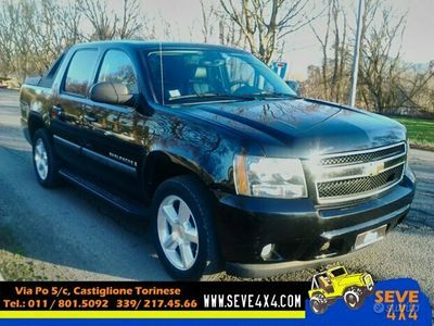 usata Chevrolet Avalanche 5.3 benz/gpl 2007 4x4