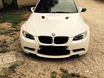 usata BMW M3 DKG white & black limited edition da collezzione