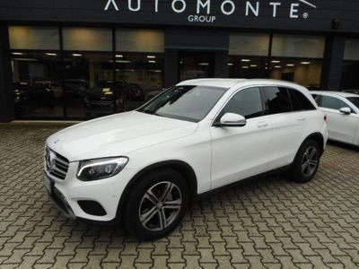 usata Mercedes GLC220 d 4MATIC,NAVI,FULL LED,CERCHI 18,SENSORI,PELLE