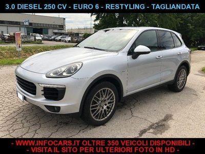 usado Porsche Cayenne 3.0 Diesel 250 CV RESTYLING - TAGLIANDATA