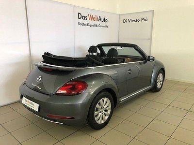 brugt VW Maggiolino Nuovo Cabriolet (2013) Cabrio 2.0 TDI 110 CV Desi