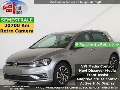 usata VW Golf Join TSI ACT 2018 1.5 B 150CV 6Man 5P Grigio