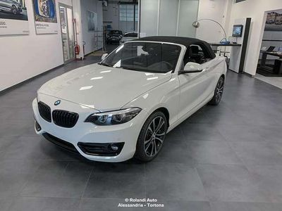 usata BMW 218 d Cabrio Sport my18