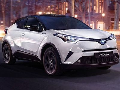 brugt Toyota C-HR 1.8 Hybrid E-CVT Active