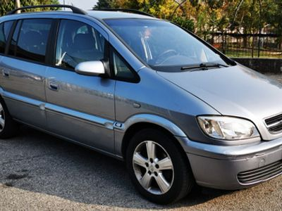 usata Opel Zafira 1,9 cdti - 7 posti-