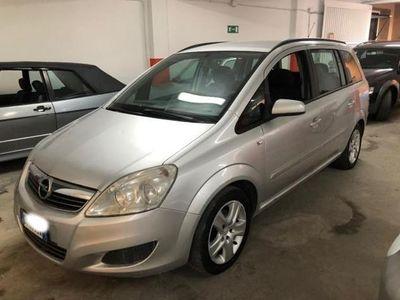 usata Opel Zafira 1.6 16V VVT GPL 7 posti AUTOMANCA