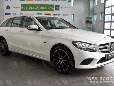 usata Mercedes 300 Classe C Station Wagonde Auto EQ-Power Sport Plus nuovo
