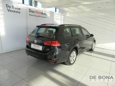 usata VW Golf 7ª serie Variant 1.6 TDI 105 CV Comfortline BlueMotion Tech.