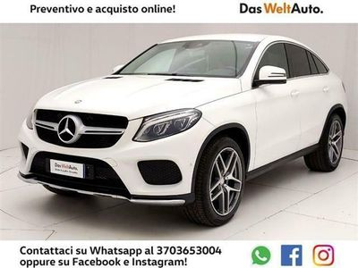 usata Mercedes GLE350 d 4Matic Coupe Sport