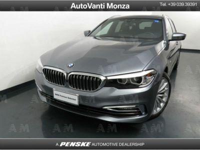 usata BMW 520 Serie 5 Touring d xDrive Luxury del 2018 usata a Monza