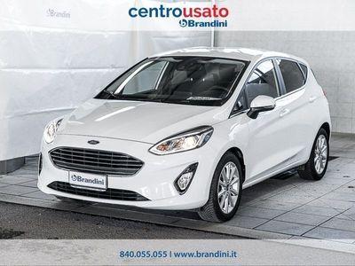usata Ford Fiesta VII 2017 5p 1.0 ecoboost Titanium s&s 100cv auto my19.5