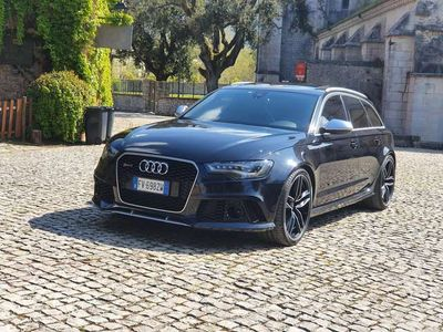 usata Audi RS6 RS6Avant 4.0 TFSI ABT 700CV Carboceramica S.Akra