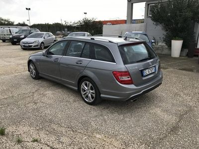 usata Mercedes C220 classecdi blueefficiency avantgarde diesel station wagon automatico grigio scuro