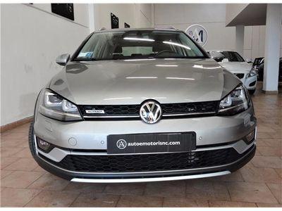 usata VW Golf Alltrack Variant Variant Tdi 184cv 4motion Dsg Garanzia Fino 2019 Usato