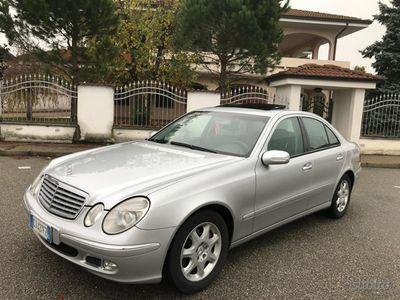 usado Mercedes E270 anno 2003 manuale